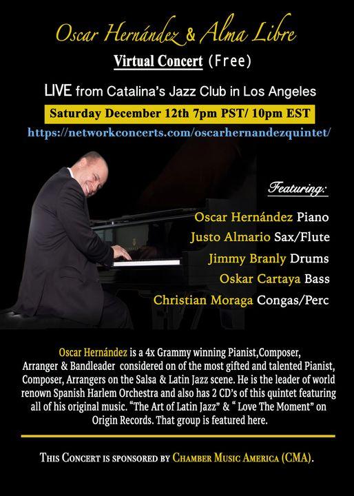Oscar Hernández Quintet – Transmisión en vivo