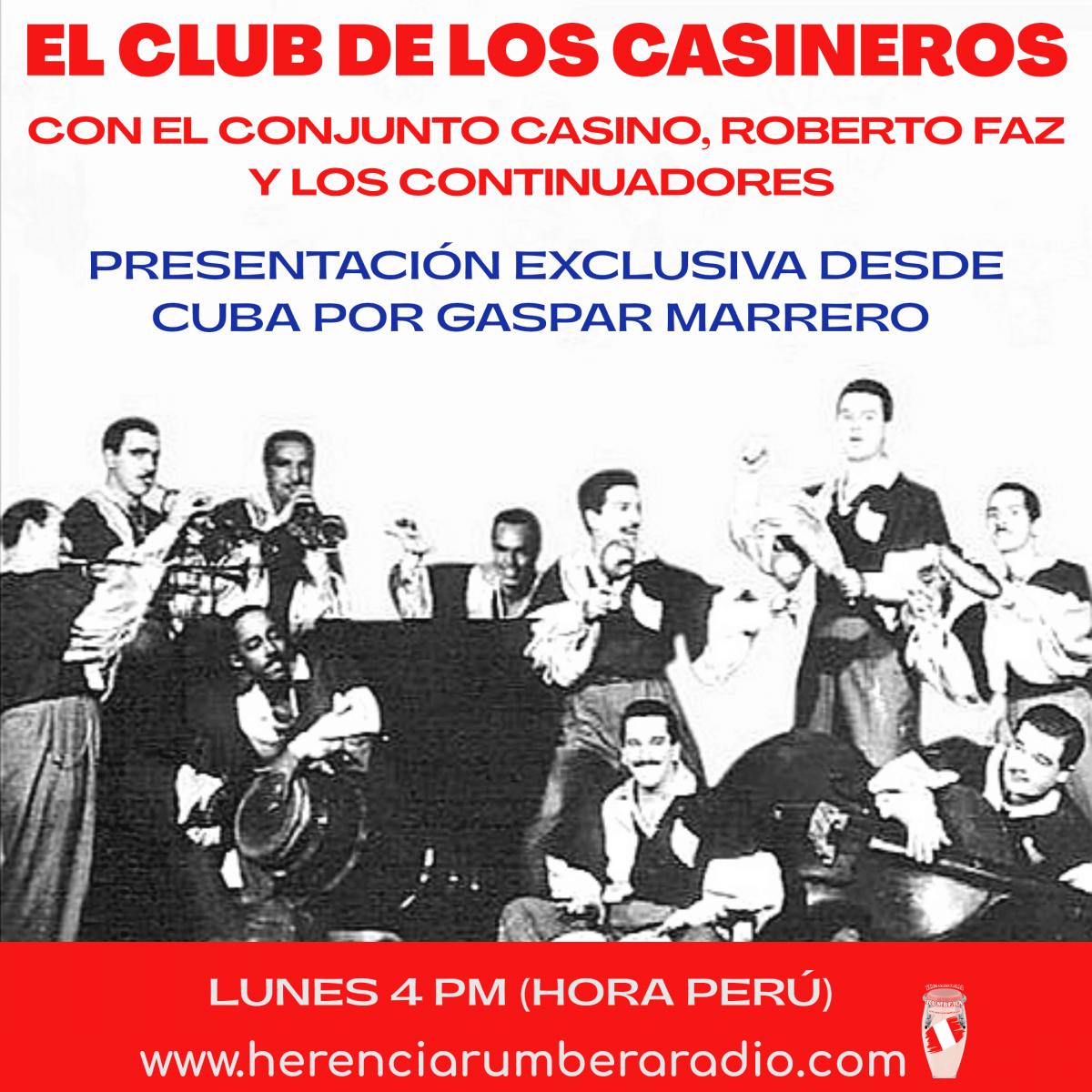 PODCAST EL CLUB DE LOS CASINEROS