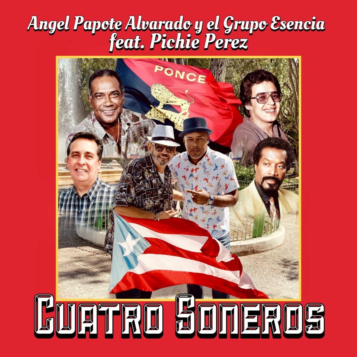 """""""CUATRO SONEROS""""- ÁNGEL PAPOTE ALVARADO Y EL GRUPO ESENCIA"""