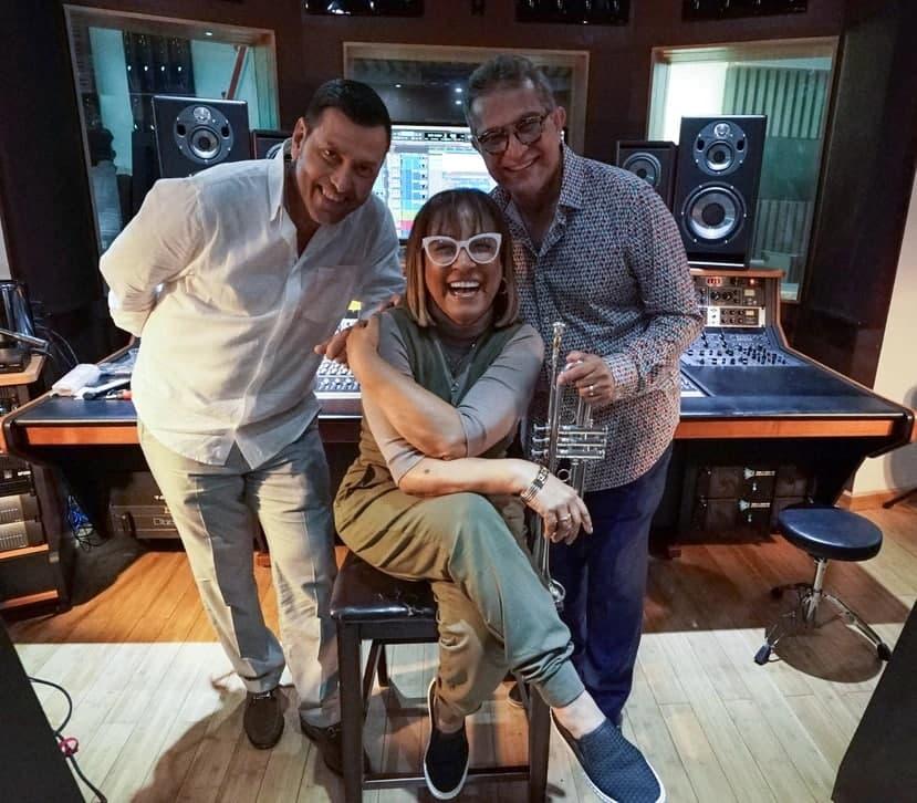 """Luis """"Perico"""" Ortiz une a Milly Quezada, Domingo Quiñones y Tony Vega en un poderoso junte musical de amistad"""
